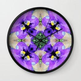 Parma Violet Wall Clock