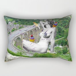 Dinan, Ma Ville Rectangular Pillow