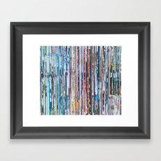 STRIPES 28 Framed Art Print