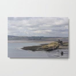 Coastal View From Lindisfarne Metal Print