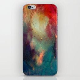Galactic Watercolor iPhone Skin
