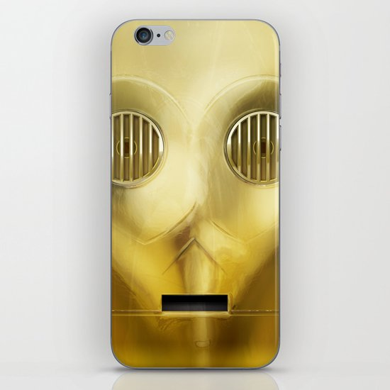 C-3PO iPhone Skin