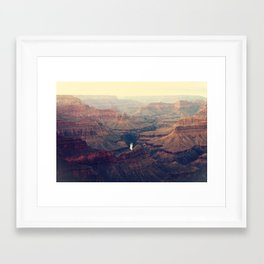 The Grand Canyon Framed Art Print