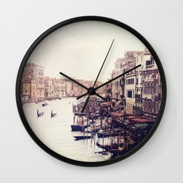 Venice revisited Wall Clock