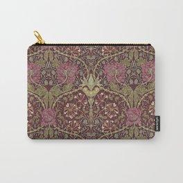 William Morris,Art Nouveau,Vintage pattern, floral victorian pattern, Carry-All Pouch