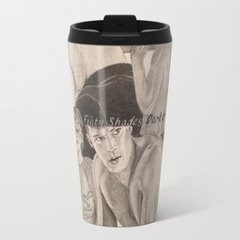 "Poster ""Fifty Shades Darker"" Travel Mug"