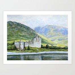 Kilchurn Castle Art Print
