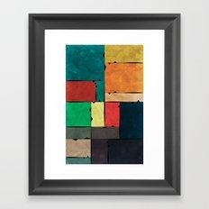 Frames of Life Framed Art Print