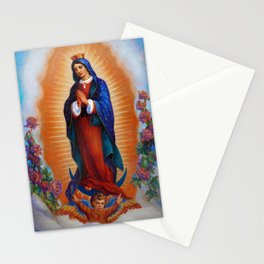 Our Lady of Guadalupe - Virgen de Guadalupe Stationery Cards
