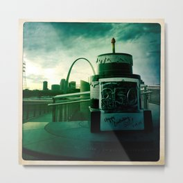 City with a view Metal Print