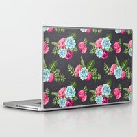 wwe Laptop & iPad Skins featuring Flower Pattern by eARTh