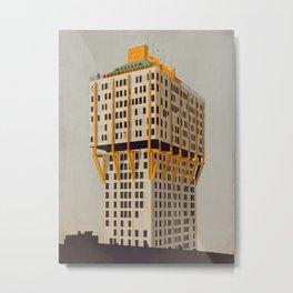 Torre Velasca - Milan Metal Print