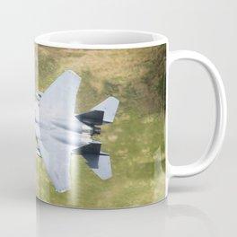 Low Flying F-15E Strike Eagle Coffee Mug