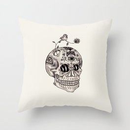 Boney Throw Pillow