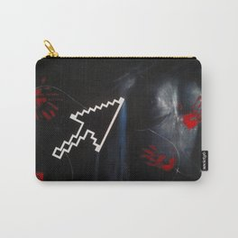 """Mutilated Pixels""                Carry-All Pouch"