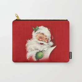 Vintage Santa Carry-All Pouch
