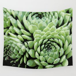 Succulent plants Wall Tapestry