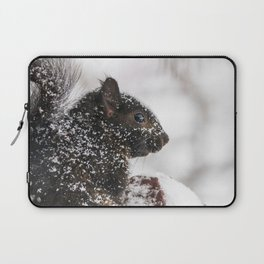 Winter Sqirrel Laptop Sleeve