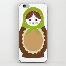 Matrioska-005 iPhone & iPod Skin