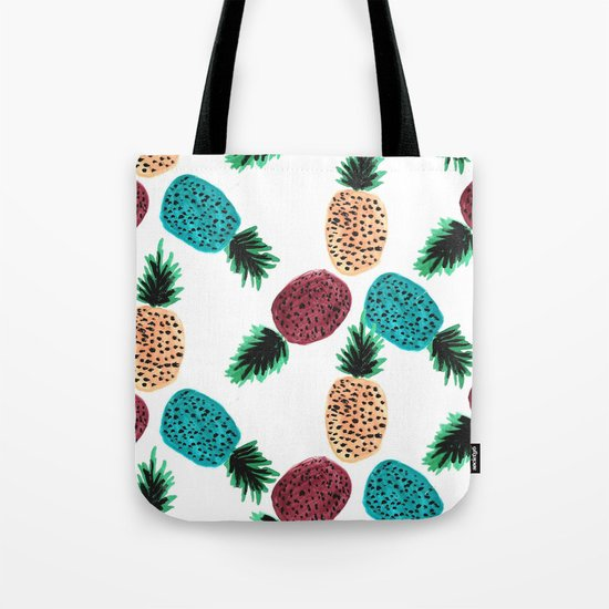 Weird Pineapples Tote Bag