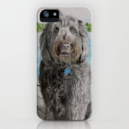 Labradoodle Stewart iPhone Case