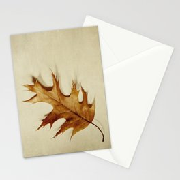 just a leaf Stationery Cards