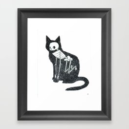 Cat Animus Framed Art Print
