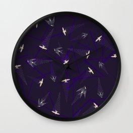 Andorinha constructivist Wall Clock