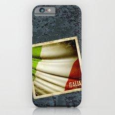 Grunge sticker of Italy flag Slim Case iPhone 6s