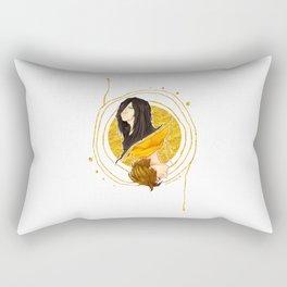 The Shadow of a Broken Dream Rectangular Pillow