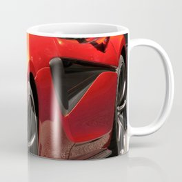 Race Car Coffee Mug