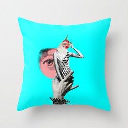 I'm a visual kinda person Throw Pillow