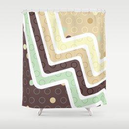 Geometric Figures Shower Curtain