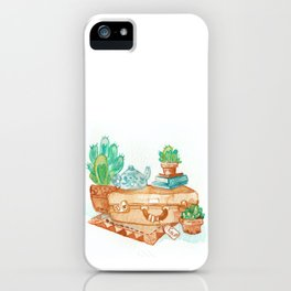 Travel Time iPhone Case