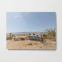 Desert Camper / Joshua Tree, California Metal Print
