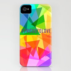 #ProudToLove x LGBT Slim Case iPhone (4, 4s)