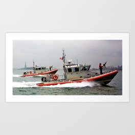 On Duty Art Print