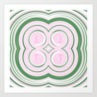 lotus candy Art Print