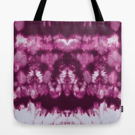 Shibori Neue Bordeaux Tote Bag