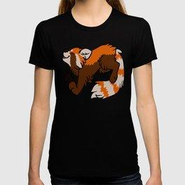 Orange Panda T-shirt