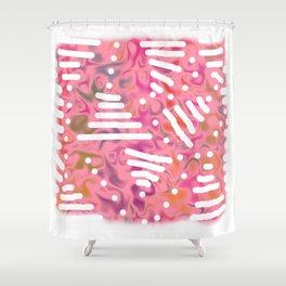 Rose bambi 01 Shower Curtain
