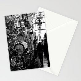 Market-B&W Stationery Cards