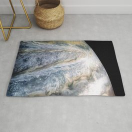 Jupiter Surface Long Range Fly-By Telescopic Photograph Rug