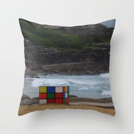Lost Puzzle II Throw Pillow