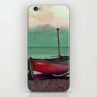 sailboat iPhone & iPod Skins featuring Sailboat by Regan's World