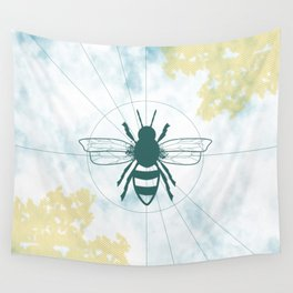 Bee Loved Wall Tapestry