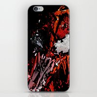 carnage iPhone & iPod Skins featuring Carnage - Spider-man by SEANLAR94