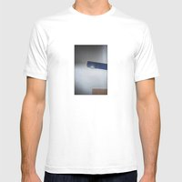 wall's detail MEDIUM Mens Fitted Tee White