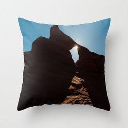 Arch Light Throw Pillow