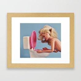 Diet Plan Framed Art Print
